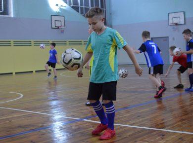 Детская секция по футболу